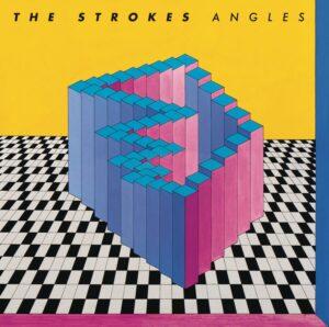 """capa do álbum """"angles"""" da banda the strokes"""